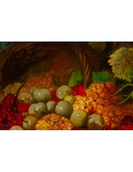 Johann Carl Rohmer (1891 - 1943): Still life with redcurrants.