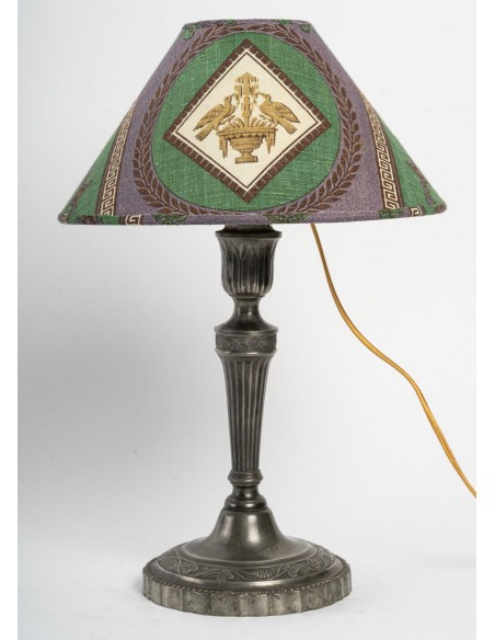 A Pair of Lamps.  19th century.