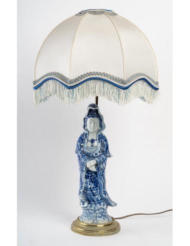 A China Porcelain Lamp.  19 century.
