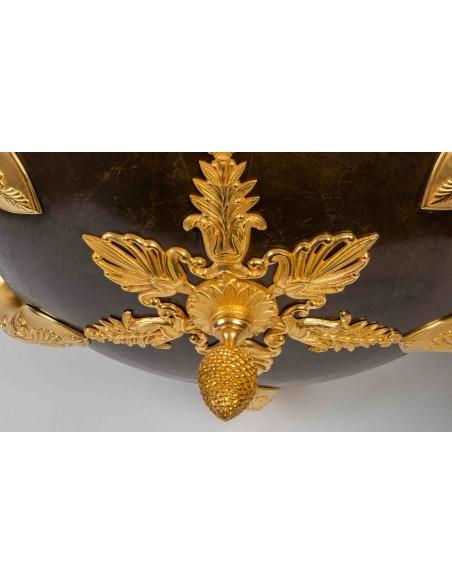 Lustre de style 1er Empire.  XIXème siècle.