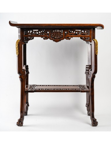 A Table signed Viardot.  19th century.