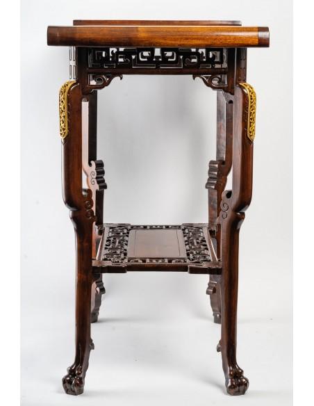 A Table signed Viardot.  19th century.