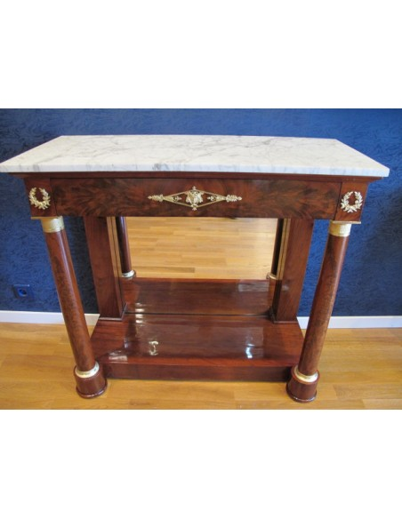 A Pair of the 1st Empire (1804 - 1815) Console Tables .  19th century.