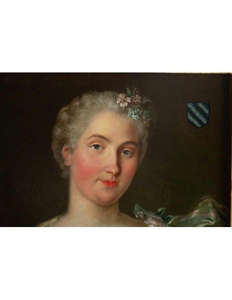 Portrait of Pauline Gift of Cerny. 18th century.