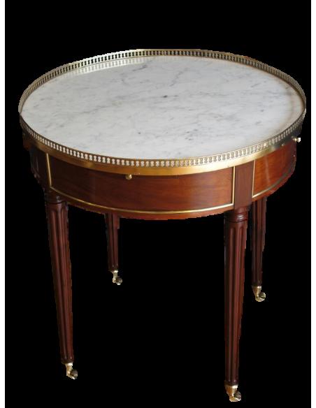 A Louis XVI period (1774 - 1793) bouillotte table. 18th century.