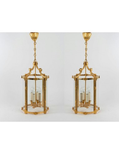 A Pair of Louis XVI style lanterns....