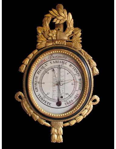 A Louis XVI period (1774 - 1793)...