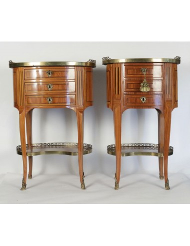 A pair of tables in Transition Louis...