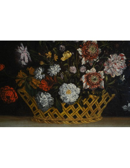 Still Life with the Flowers. 17th century.