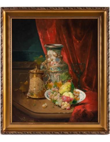 Emile Godchaux (1860 - 1938) : Plate...