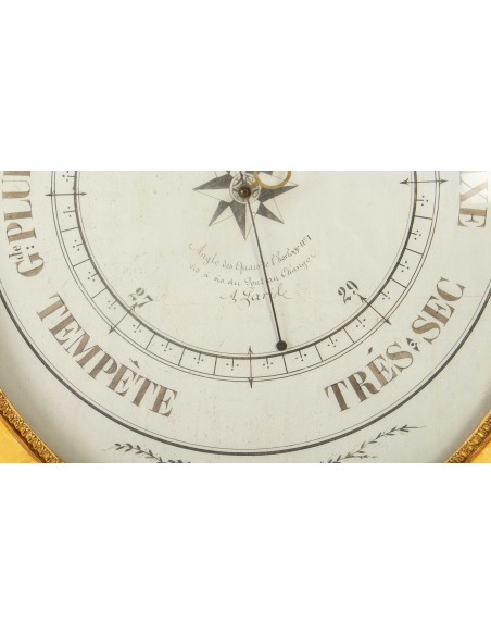 A First Empire period (1804 - 1815) Barometer. 19th century.