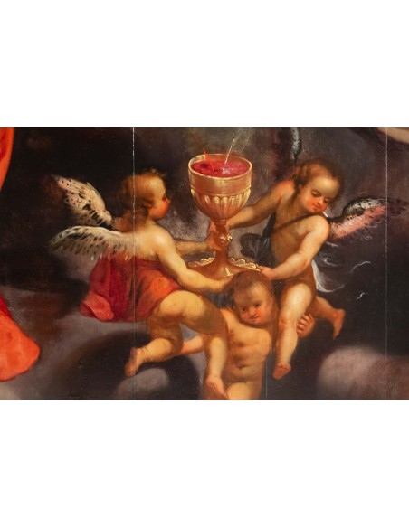 The double intercession. 17th century.
