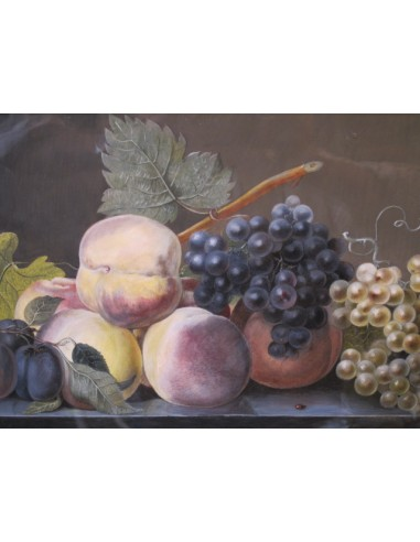 Still life with the fruits. 19th...