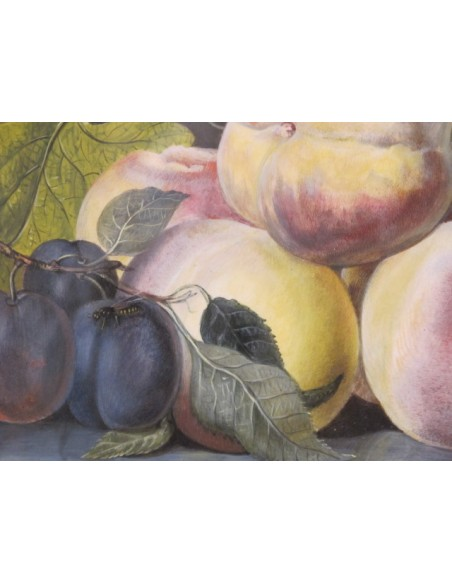 Still life with the fruits. 19th century.