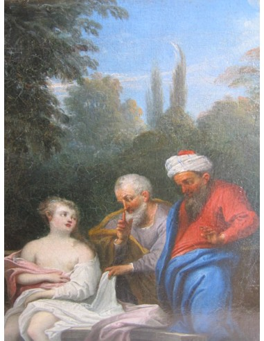 Susanna and the Elders. 18th century.