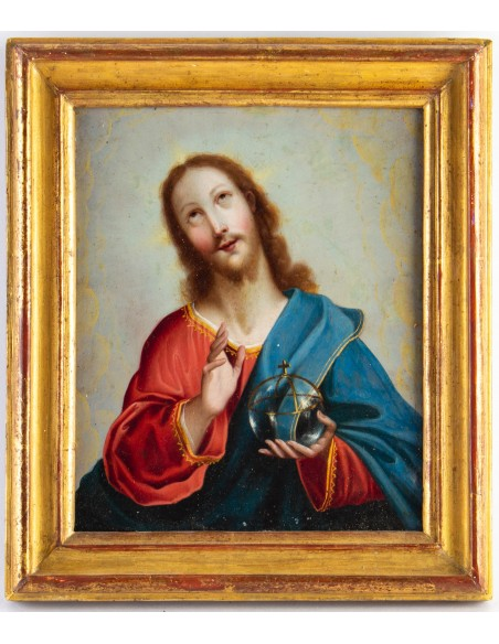 Salvator Mundi. 17th century.