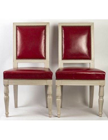 Pair of Empire Period chairs, 19th...