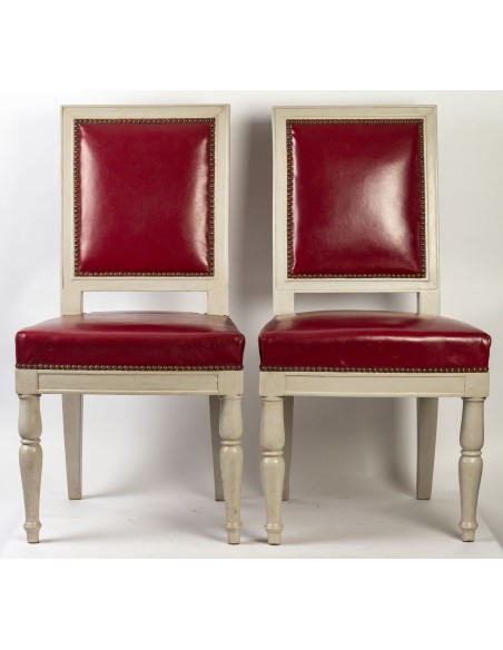 Pair of Empire Period chairs, 19th century